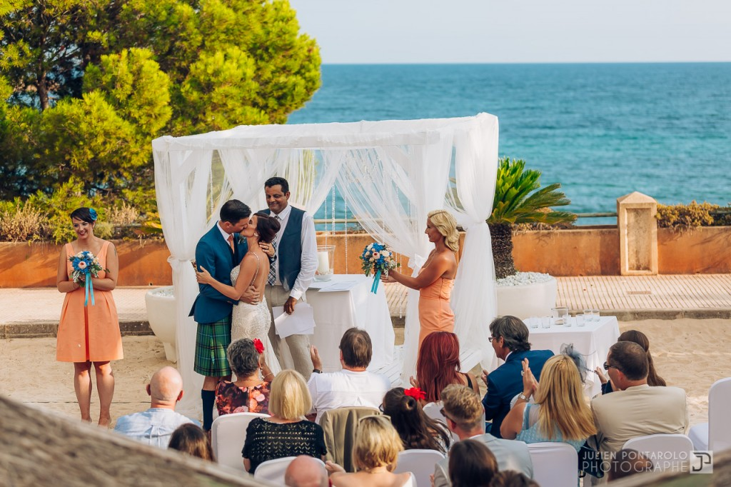 Destination wedding at Mallorca Mood Beach Bar 45