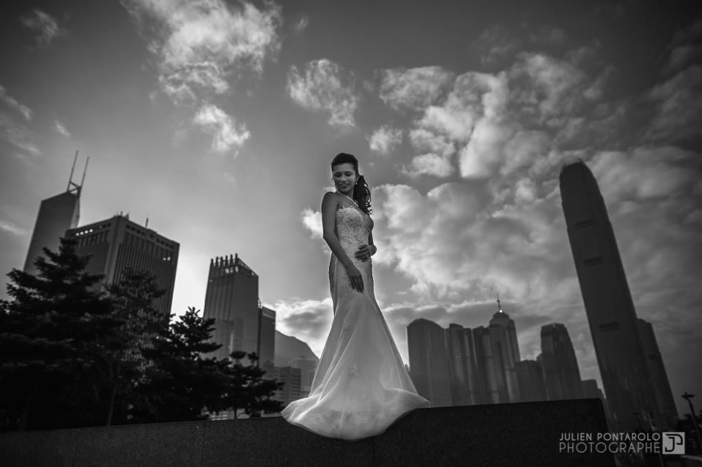 A shooting in Hong Kong with Noel Chu wedding gown 11