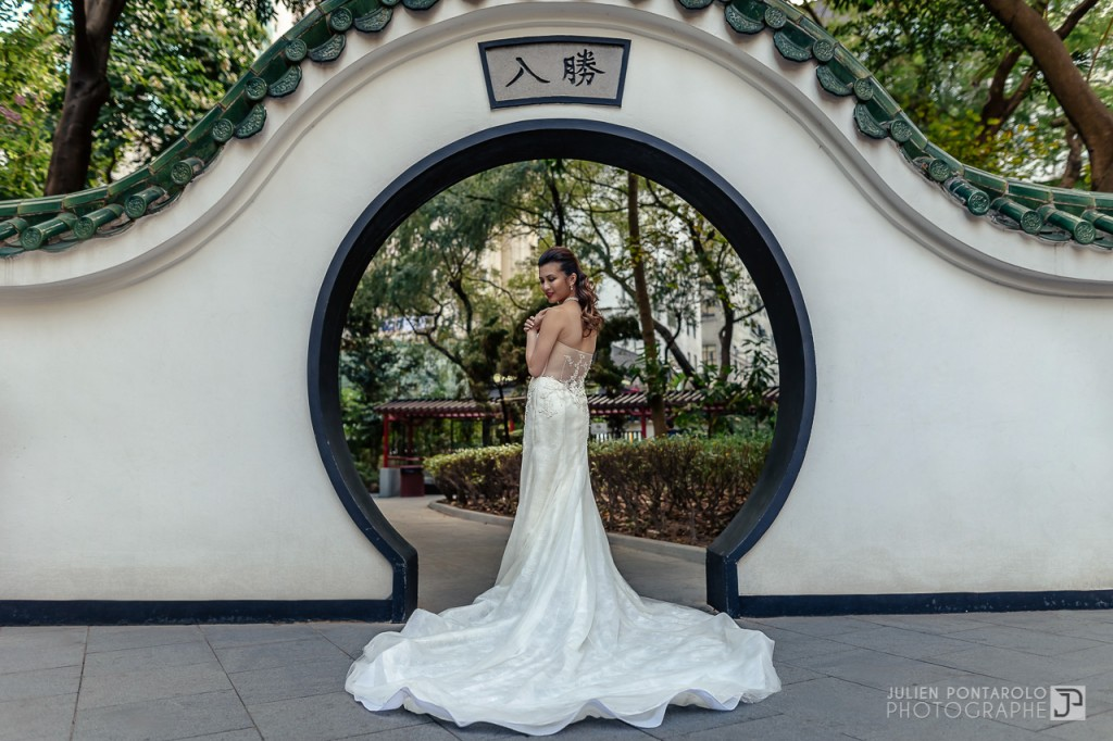 A shooting in Hong Kong with Noel Chu wedding gown 2