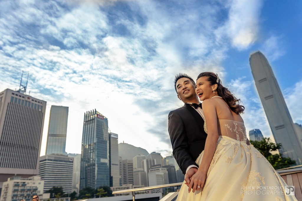 A shooting in Hong Kong with Noel Chu wedding gown 14