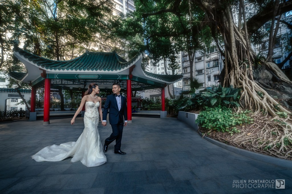 A shooting in Hong Kong with Noel Chu wedding gown 6