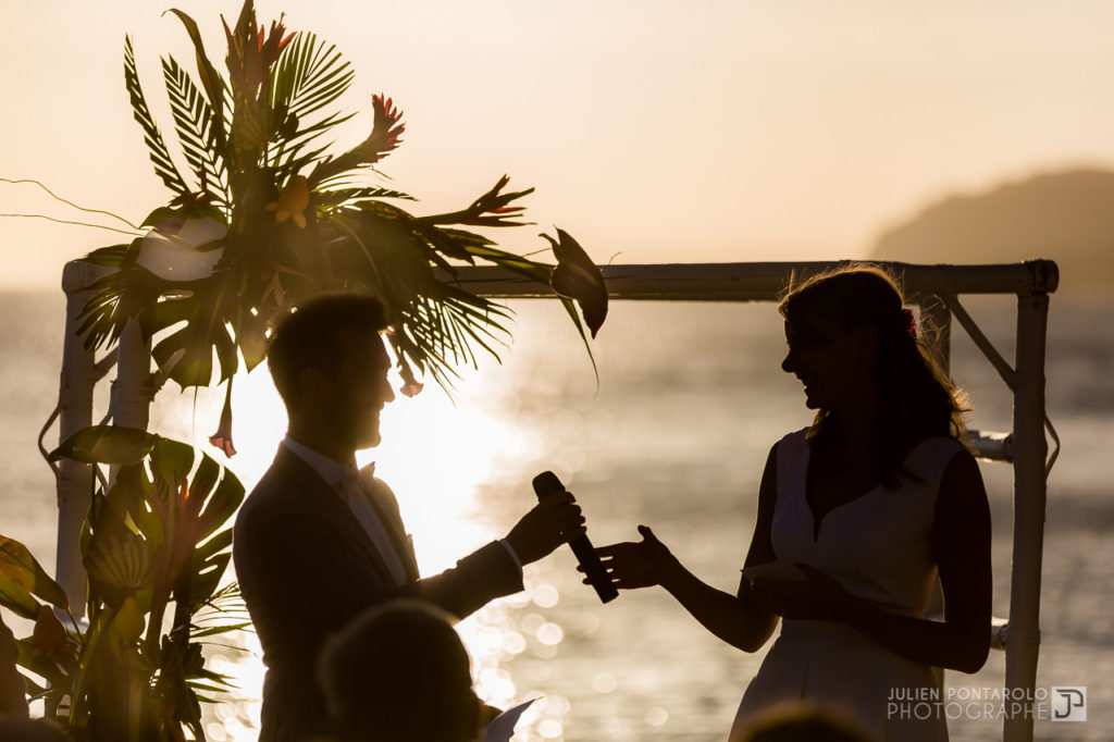 a sunset beach wedding in Greece 38