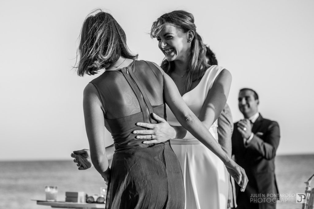 a sunset beach wedding in Greece 43